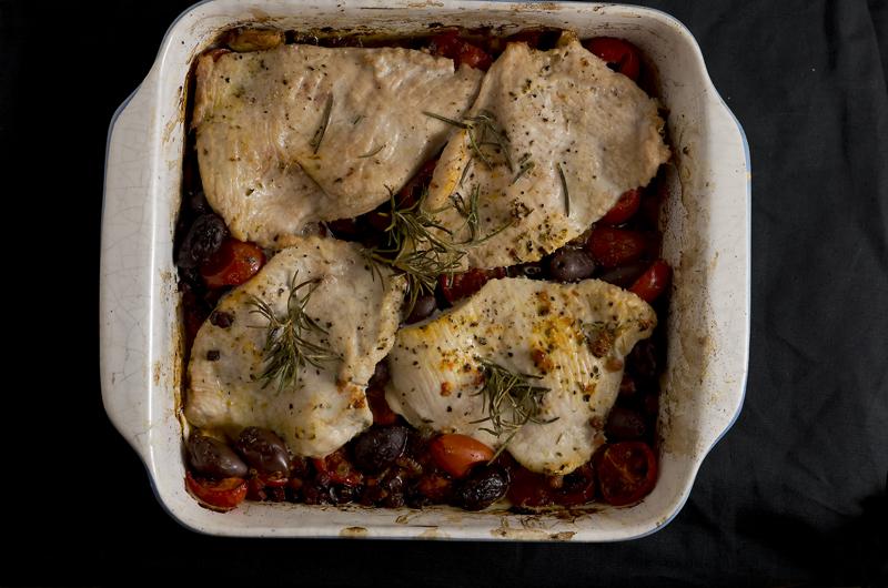 Italienisches Hähnchen aus dem Ofen
